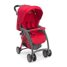 Chicco Poussette Simplicity Rouge | Your #1 Source for Baby Products