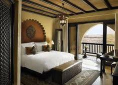 decoración de cuartos de hotel exoticos