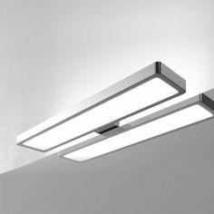 Uutuus Paz-kylpyhuonevalaisin on ulkoasultaan moderni, kromattu IP44  ledvalaisin. Valon väri 4000K, teho 6W, 45 000h, valon määrä 750lm, RA>80. Valaisee myös ylöspäin. Muuntajassa 1,5m virtajohto pistokkeella. Asennetaan peilin taakse tai mukana olevan lisäosan avulla kaapin päälle tai max. 6mm peiliin.