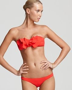 Beautiful bow bikini!
