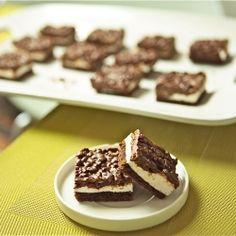 Deluxe Chocolate Marshmallow Bars (vegan & gluten free) #foodgawker