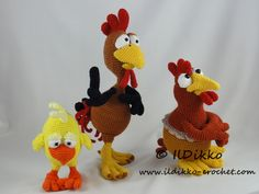 Poultry Paula, Paulette, Poultry Paul and Chuck the Chick: Following these patterns Poultry Paula and Poultry Paulette will be approximately 19 cm tall, Poultry Paul will be 30 cm tall. Their wingspan is 30 cm. Chuck the Chick will […]
