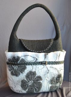 Купить Сумка Классика. - чёрно-белый, классика, классический стиль, сумка, сумка женская