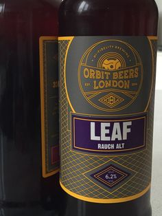 #145 Orbit Leaf Rauch Alt - Chocolatey, smokey, bitter, very odd 1/5 (10/07/2015)