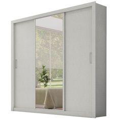 Guarda-roupa Demobile Residence com 3 Portas e Espelho