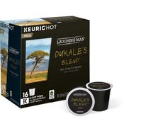 Keurig® K-Cup® Pack 16-Count Laughing Man® Dukale's Blend™ Coffee Free Shipping #laughingman