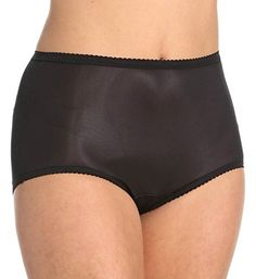 5a58c3616ae Shadowline Nylon Modern Brief Panty 17642 11Black    You can find more  details by visiting