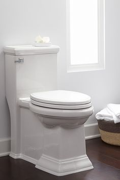 tip maximize space by using a onepiece toilet for your powder room toilet