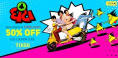 Watch #Ghantaa to tickle your funny bone *wink-wink* Book your #movie_tickets now at FLAT 50% DISCOUNT!