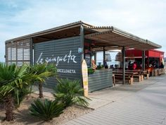 Le bar de plage la Guingueta par Sandra Tarruella interioristas