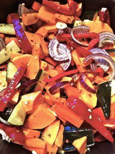 Roast vegetables in Remoska