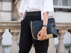 Live from Across the Pond ... It's LFW SS15 Street Style!