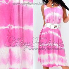 Batikolt lenge női ruha * öv nélkül *