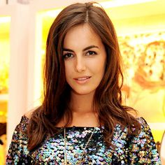 Hair Look of the Day - Camilla Belle's Cinnamon Strands from #InStyle
