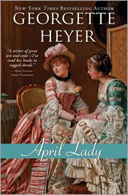 Though she frankly admits that April Lady is not her favorite Regency by Georgette Heyer, romance author, Ella Quinn, does still enjoy reading this novel of a recently married couple who have yet to admit their love for one another. As Ella explains, there are other aspects of the story which will enlighten and inform those interested in the Regency period, even if the tale of romance itself is not quite their cup of tea. And yet, how many readers will be able to help but root for this…