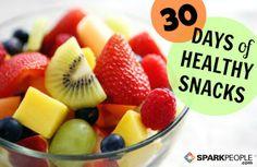 30 Days of Healthy Snacks