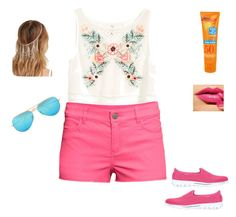 """""""Welcome Summer ❤??"""" by perihan-kamal ❤ liked on Polyvore"""