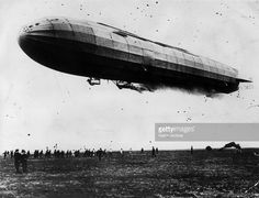 The L2, a German naval zeppelin during World War I.