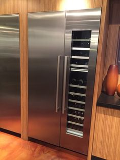 Thermador 30 Quot Fridge Column And 18 Quot Freezer Finished To