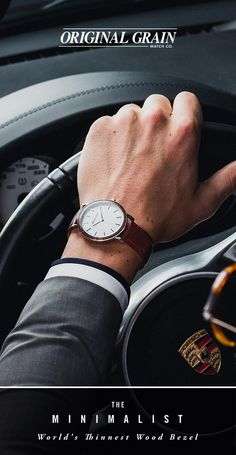 At the cutting edge of affordable luxury, The Minimalist is classic yet modern. With the world's thinnest wood bezel, this is the perfect watch for your everyday look. Starting at $149 with Free shipping worldwide!