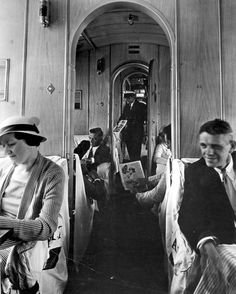 Interior of the Pan Am Sikorsky S-40 Clipper