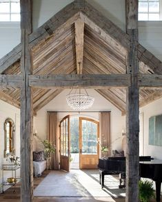 """Farmhouse Charm 🏡 on Instagram: """"What stopped you from scrolling? ❤️ ✌️ Follow us for daily farmhouse inspo! ❤️(credit: @norrisarchitecture )⠀⠀⠀⠀⠀⠀ --⠀⠀⠀⠀⠀⠀ Follow us for…"""" Farmhouse Interior, Modern Farmhouse, Farmhouse Style, Farmhouse Homes, Country Homes, Farmhouse Design, American Farmhouse, Farmhouse Ideas, Home Interior"""