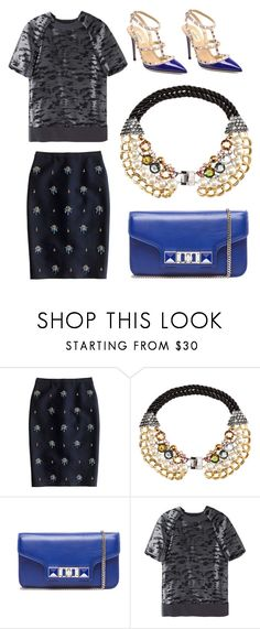 """""""Step Up, Step Out"""" by the-classics ❤ liked on Polyvore featuring J.Crew, H&M, Proenza Schouler, Alexander Wang, Valentino, classic and SimpleOutfits"""