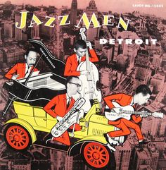 "Jazzmen: Detroit - Savoy MG 12083 [12"" LP] 1956"