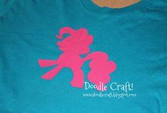 Doodle Craft...: My Little Pony Tee shirt!