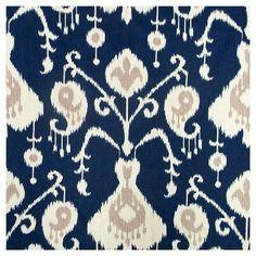 "Window Curtain Panels Blue (50""x120"")"