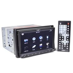 """Accesorize Your Car: 7"""" Touchscreen Car GPS/DVD/VCD/MP3 Player with Bluetooth, USB Port, SD Slot & AM/FM Tuner (Brand New)"""