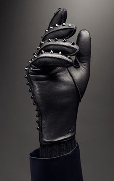 I love a good glove, although this may be going a bit too Michael Jackson. I would still try to rock it, though.
