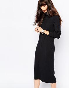Selected Mellie Turtleneck Midi Dress