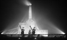 Battersea Power Station, 1935. John Maltby.