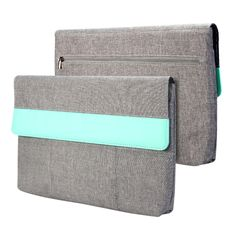 GMYLE Sleeve Cushion combines a slim chic design for a cozy new user experience. 3 smart slots provide a secure space for your mobile and cables. Preventing easy worn-out. Flap at the top for extra pr