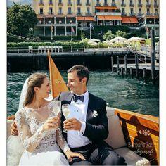 Amazing wedding on boat
