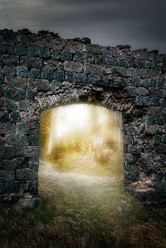 Thresholds:  Stone Portal.