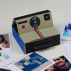DIY: Caixinha com fotos Polaroid