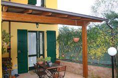 Tettoie mobili ~ Tettoia esterna addossata alla casa pergole tettoie porticati