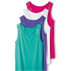 AVON's DAILY DEAL: Lace Accented Tank Pack reg. $34.99 $14.00 Turn up the Heat with Vibrant Tank Tops ! https://www.facebook.com/pages/Stittsville-Avon-Lady/1016638218351182