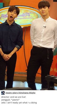 BAP - Yongguk and Zelo