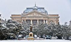 Teatrul De Stat Si Statuia Regina Maria Romania, Louvre, Country, Architecture, Building, Places, Travel, Arquitetura, Viajes