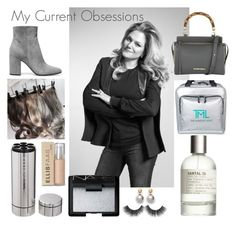 """""""50 Shades Darker"""" by aubrie-layne on Polyvore featuring NARS Cosmetics, Le Labo, Ellis Faas, Gianvito Rossi and Elaine Turner"""