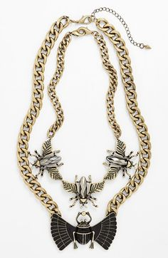 Leith Insect 3-in-1 Statement Necklace | Nordstrom