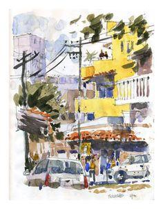 Iain Stewart sketchbook