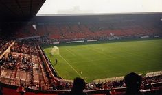 Old Trafford in the 80s - from Martin Wythenshawe Reds