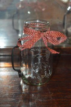 Tutorial: Mason Jar Mugs