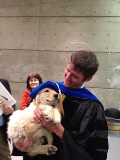 Doggie Howser M.D. ?    #puppy #dog #graduation