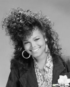 star of the 80's...Janet Jackson