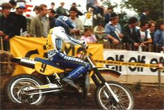 Jean Jacques Bruno - french motocross rider - Mx GP 500cc